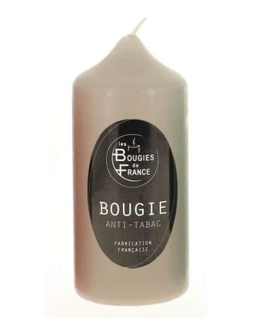 Bougie Anti Tabac Taupe