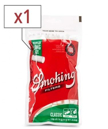 Filtres Smoking Classic Régular Long x 1 sachet