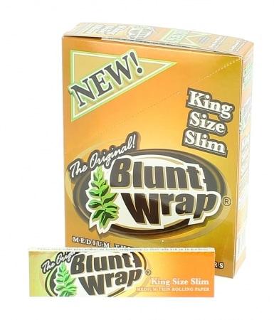 Papier à rouler Blunt Wrap Gold Slim x25