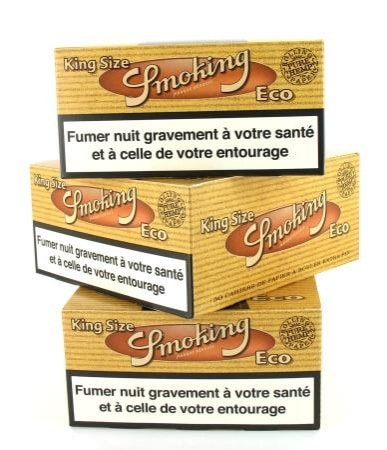 Papier à rouler Smoking Slim Eco x50 PACK de 3