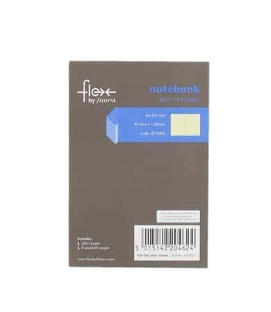 Carnet de notes 64 pages lignées pour Pocket Flex Filofax