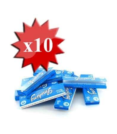 Papier à rouler Smoking Blue x 10