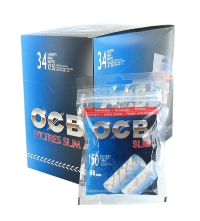 Filtres OCB slim X34 sachets