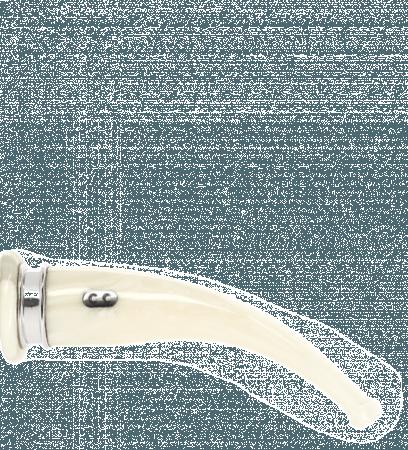 Tuyau courbe 2 blanc