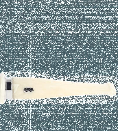 Tuyau droit 13 blanc