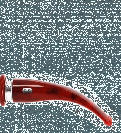 Tuyau courbe 5 rouge