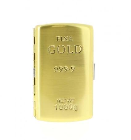 Etui cigarette Lingot d'or