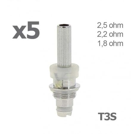 Atomiseur T3S pour clearomiseur x 5