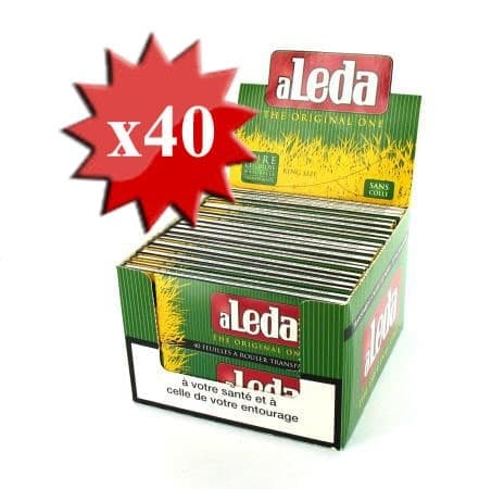 Papier à rouler Aleda king size slim x 40