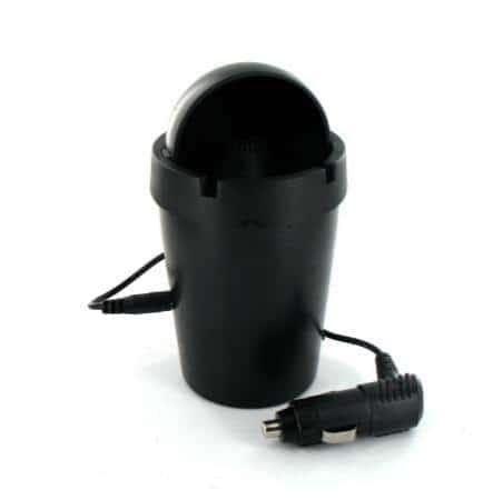 Cendrier de Voiture Smokeless Anti Odeurs Noir