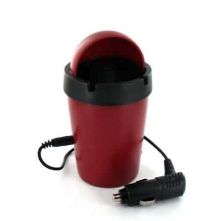 Cendrier de Voiture Smokeless Anti Odeurs Rouge