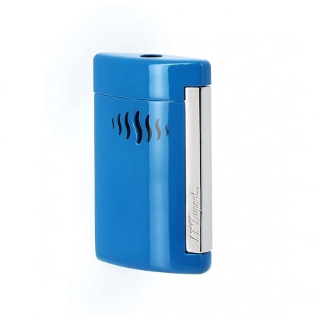 Briquet S.T. Dupont miniJet Bleu Caraïbes