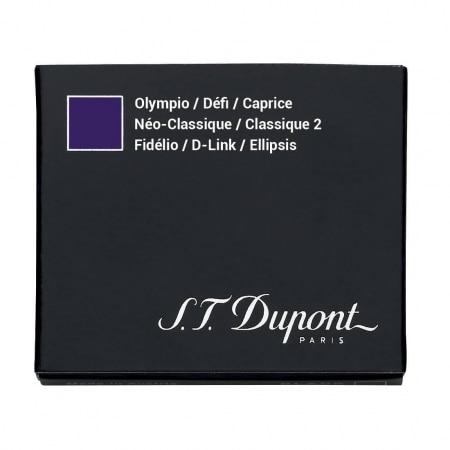 Cartouche S.T. Dupont Stylo Plume Défi Violette x6