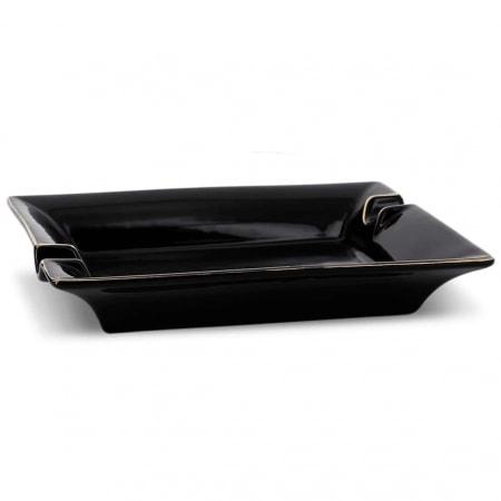 Cendrier Cigare Porcelaine Noir