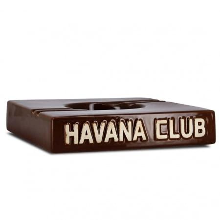 Cendrier Havana Club Carré Marron Double