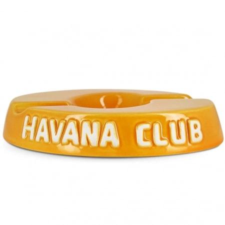 Cendrier Havana Club Jaune double
