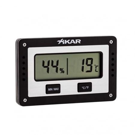 Hygromètre Xikar PuroTemp Rectangulaire