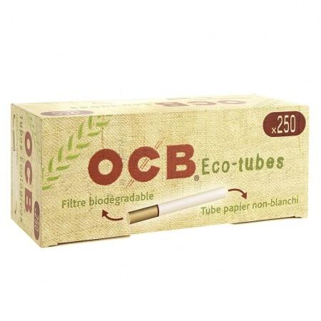 Boite de 250 tubes OCB Chanvre Bio avec filtre x1