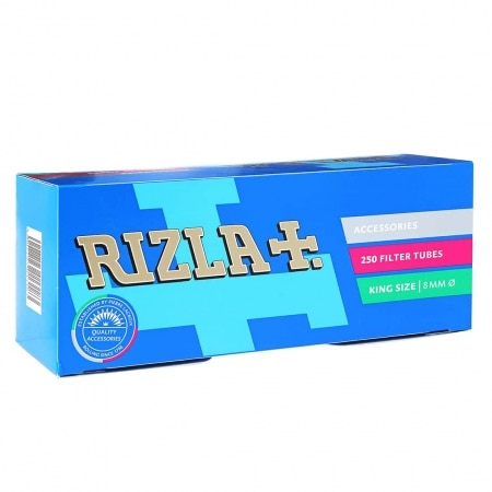 Boite de 250 tubes Rizla + avec filtre x 1