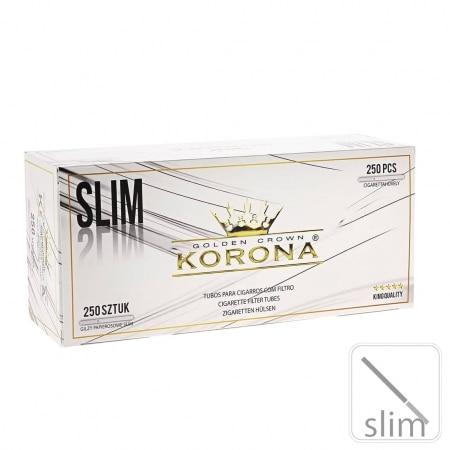 Boite de 250 tubes Korona Slim avec filtre