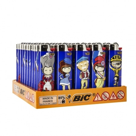 50 briquets Bic Maxi à pierre Made in France