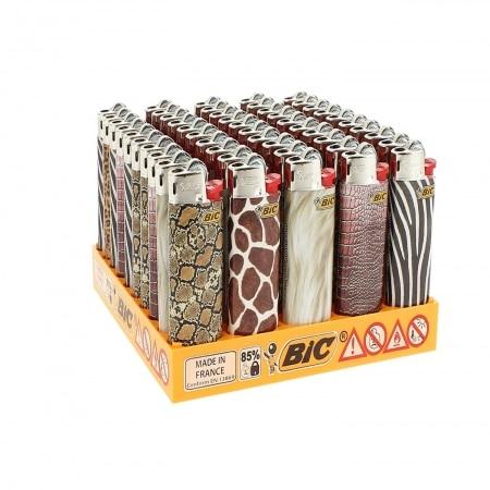 50 briquets Bic mini à pierre Skin 2013
