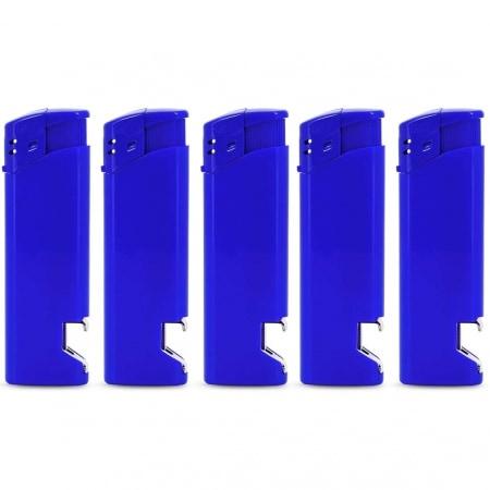 Briquet Décapsuleur Bleu x 5