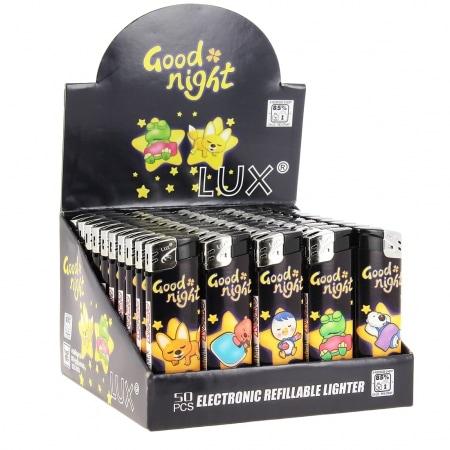 50 Briquets jetables Good Night