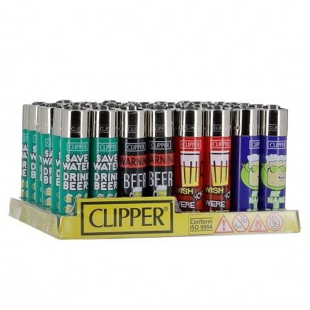 Briquet Clipper Beer x 48