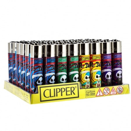 Briquet Clipper Mr Dead x 48