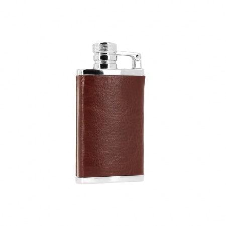 Briquet torche Flasque marron