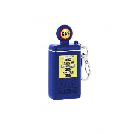 Cendrier de poche Pompe à essence bleue