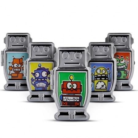 Cendrier de poche Robot