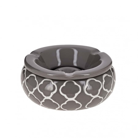Cendrier Marocain Rond Taupe