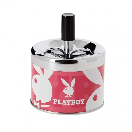 Cendrier Poussoir Playboy Rose