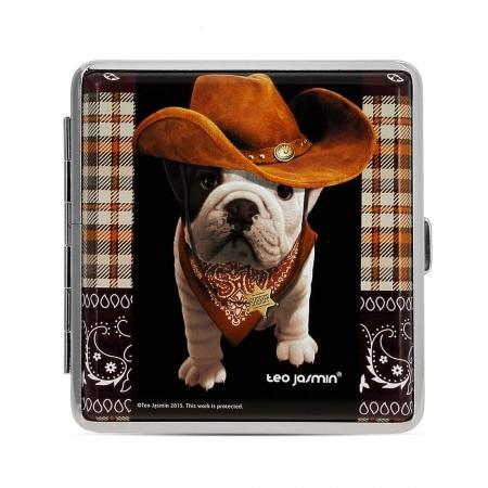 Etui Cigarette Teo Jasmin Bulldog Cowboy