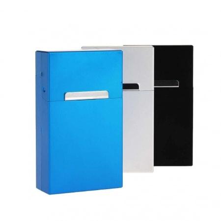 Etui paquet cigarette aluminium 100's