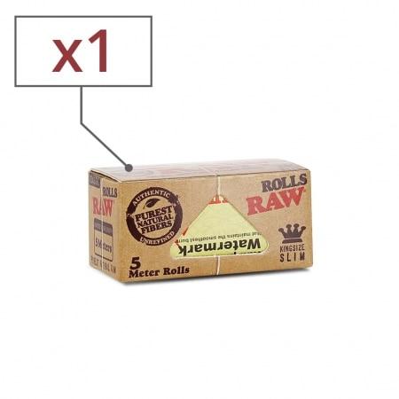 Papier a rouler Raw Rolls Slim x 1