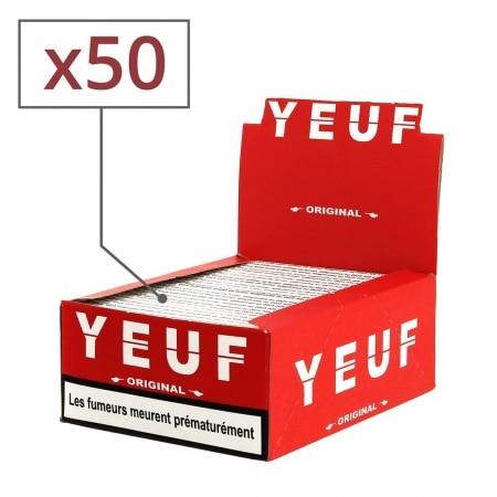 Papier à rouler Yeuf Slim Original x 50