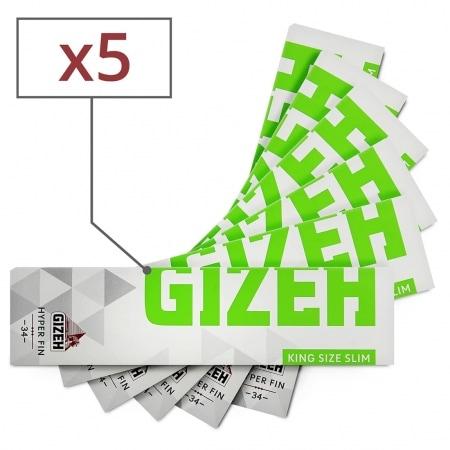 Feuille a rouler Gizeh Slim Hyper Fin x 5
