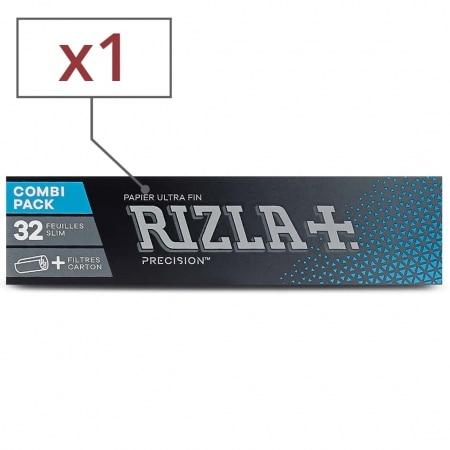 Papier à rouler Rizla + Precision Slim et Tips x 1