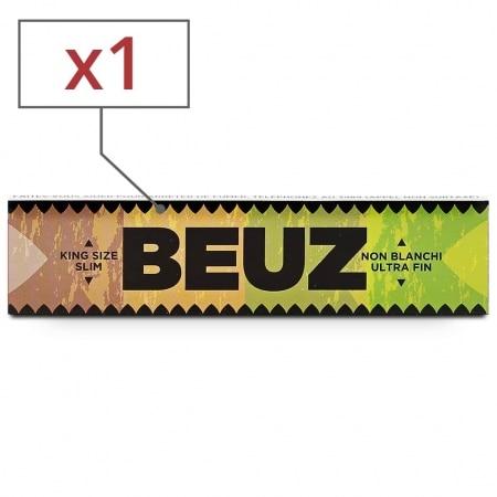 Papier a rouler Beuz Slim Brown x1