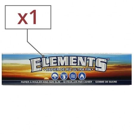Papier à rouler Elements Slim x 1