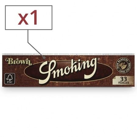 Papier à rouler Smoking Slim Brown x1
