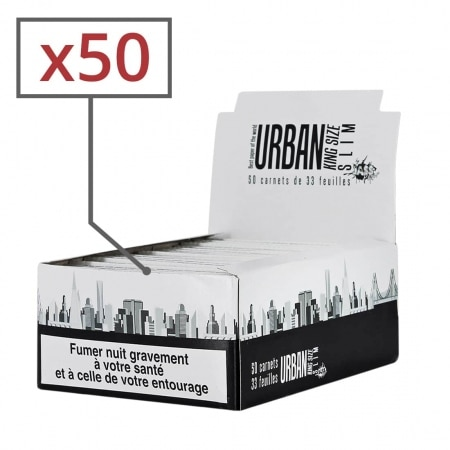 Feuille a rouler Urban King Size Slim x 50