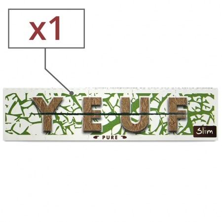 Papier à rouler Yeuf Slim Pure x 1
