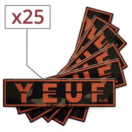 Papier à rouler Yeuf Slim Supreme x 25