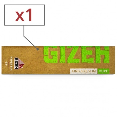 Papier à rouler Gizeh Slim Pure Hyper fin x 1