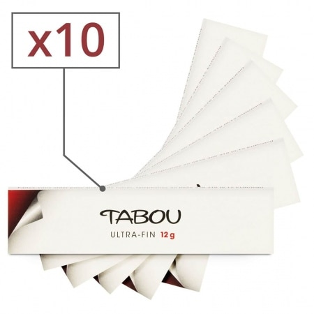 Feuille a rouler Tabou Slim Ultra Fin x 10