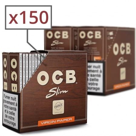 Papier à rouler OCB Slim Virgin x 50 PACK de 3